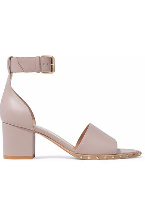 VALENTINO Studded leather sandals