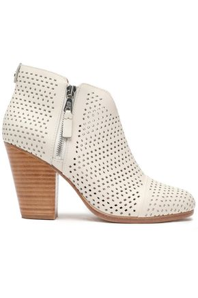 RAG & BONE Margot laser-cut leather ankle boots