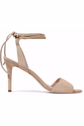 Woman Elyse Suede Sandals Beige