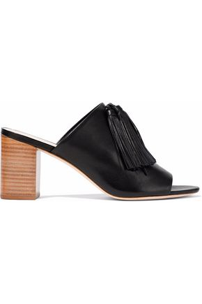 LOEFFLER RANDALL Clo tasseled leather mules