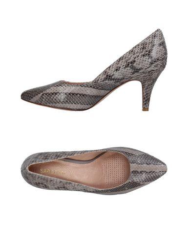 Фото - Женские туфли SARGOSSA серого цвета