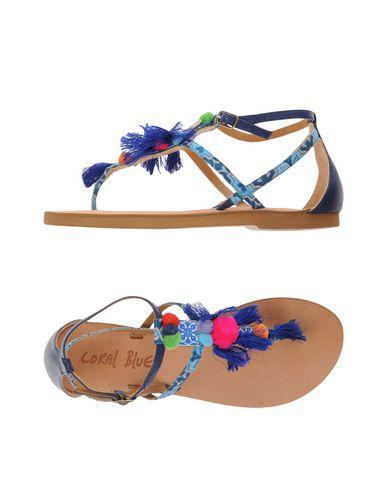 zapatillas CORAL BLUE Sandalias de dedo mujer