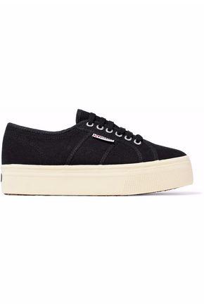 SUPERGA® Canvas platform sneakers