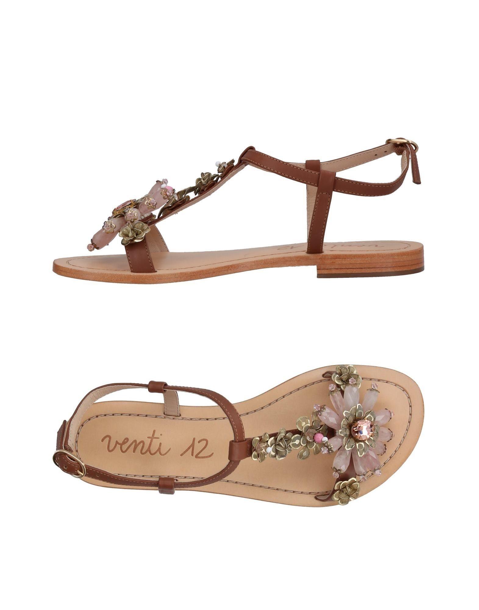 VENTI 12 Sandals in Light Pink