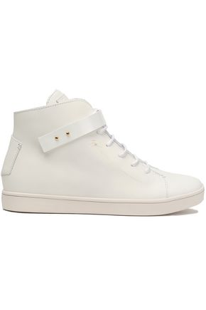 GIUSEPPE ZANOTTI DESIGN Leather high-top sneakers