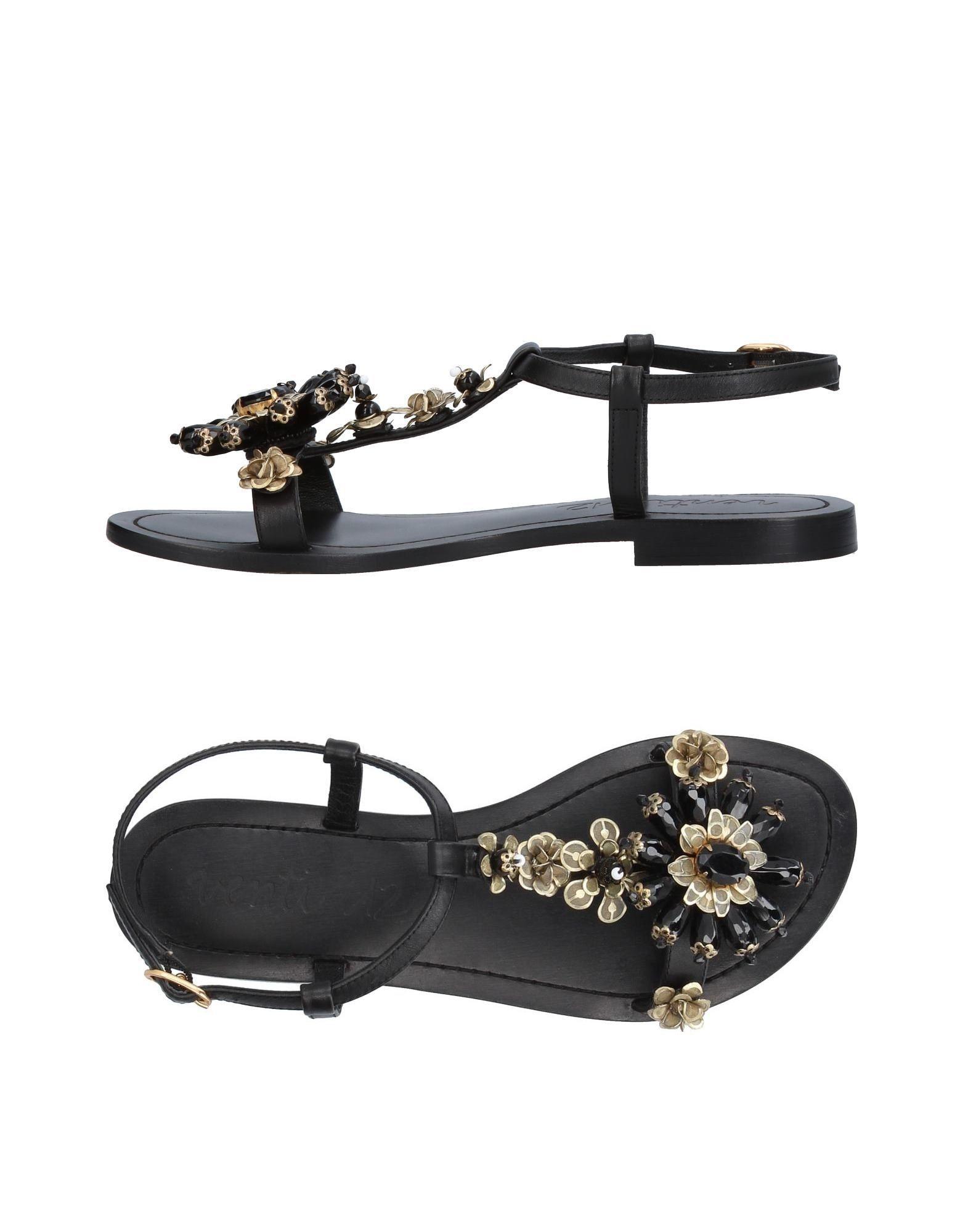 VENTI 12 Sandals in Black