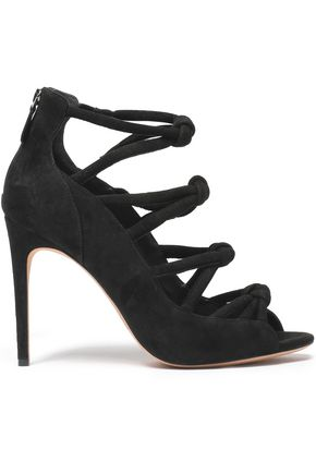 ALEXANDRE BIRMAN Knotted suede sandals