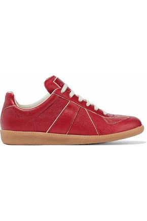 MAISON MARGIELA Textured-leather sneakers