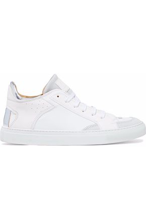 MM6 MAISON MARGIELA Leather and suede sneakers