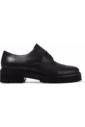 MM6 MAISON MARGIELA Coated suede brogues