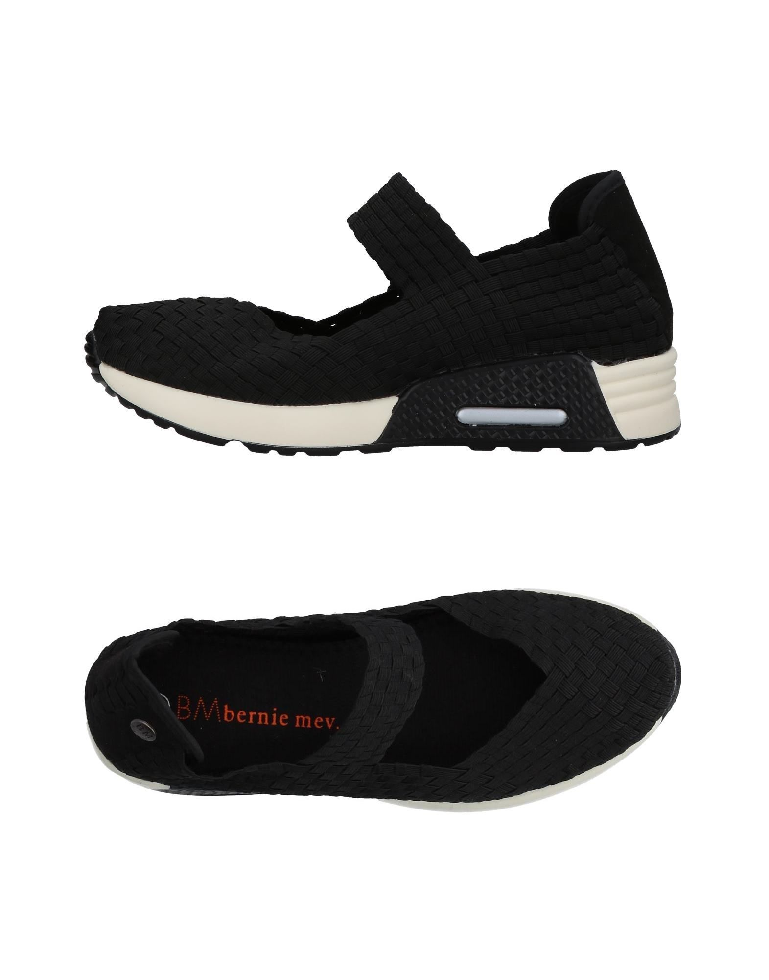 BERNIE MEV. Sneakers. no appliqués, solid color, elasticized gores, round toeline, flat, fully lined, rubber cleated sole. Textile fibers