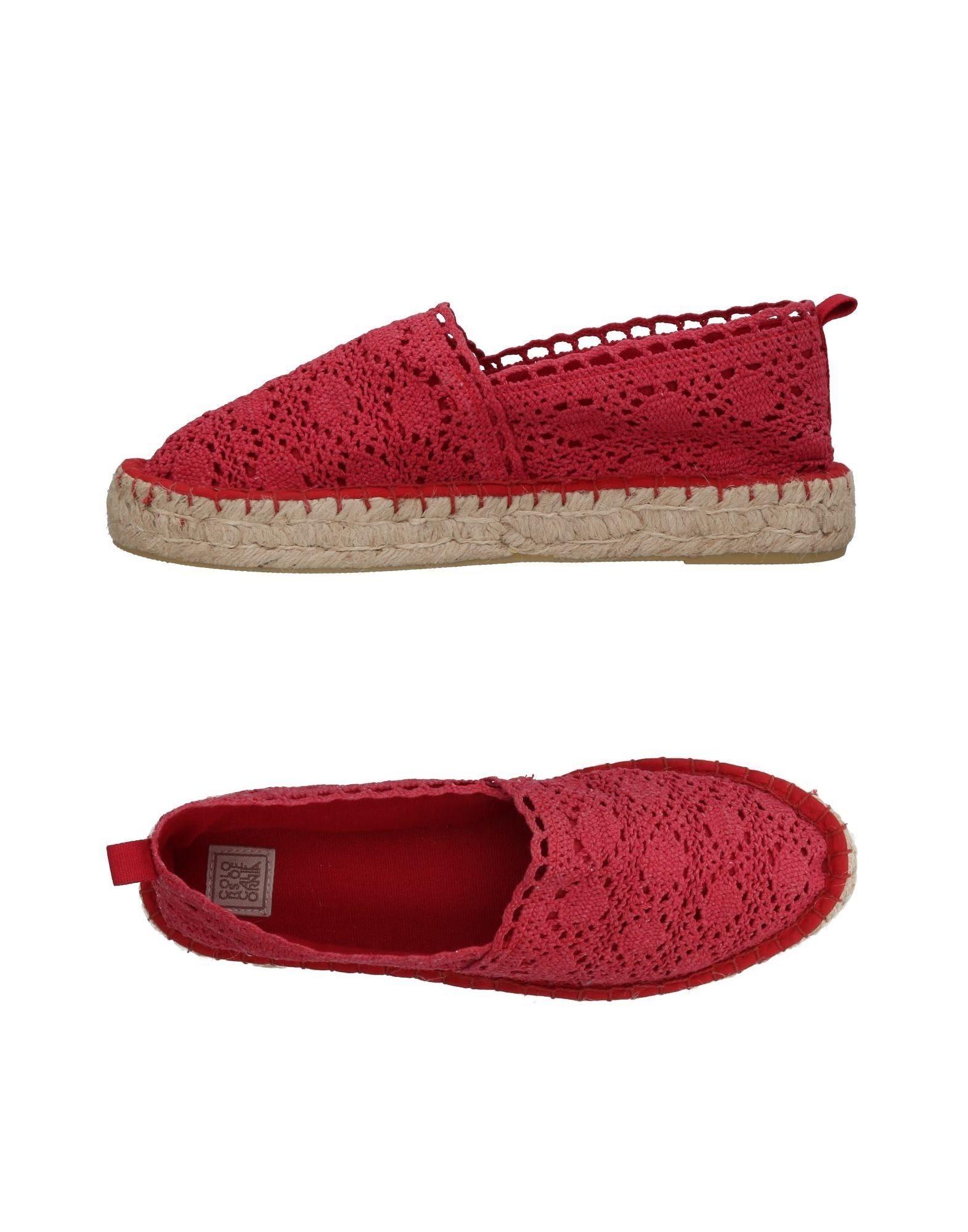 COLORS OF CALIFORNIA Эспадрильи эспадрильи colors of california обувь на полную ногу