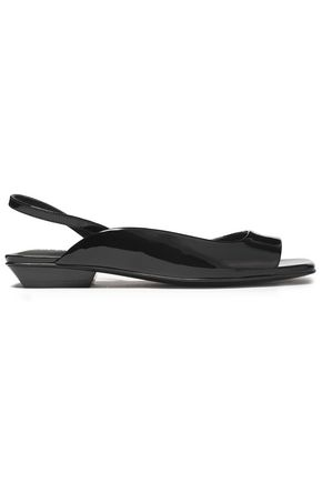 OPENING CEREMONY Patent-leather slingback sandals