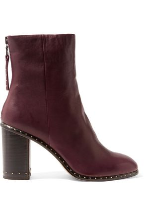 RAG & BONE Blyth stud-embellished leather boots