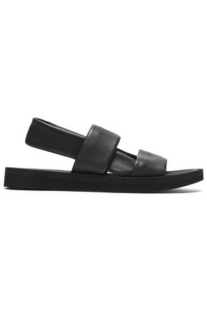 OPENING CEREMONY Textured-leather sandals
