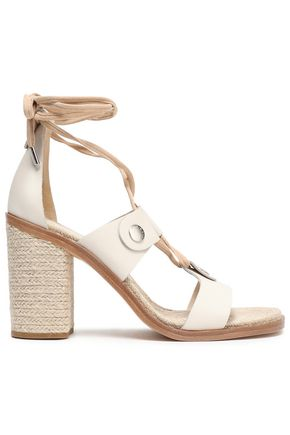 RAG & BONE Braid-detailed lace-up leather sandals