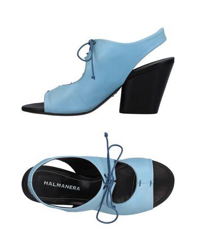 Фото - Женские сандали HALMANERA небесно-голубого цвета