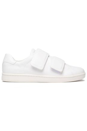 DKNY Brionne leather sneakers