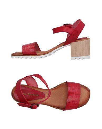 Фото - Женские сандали MARIA BARCELO красного цвета