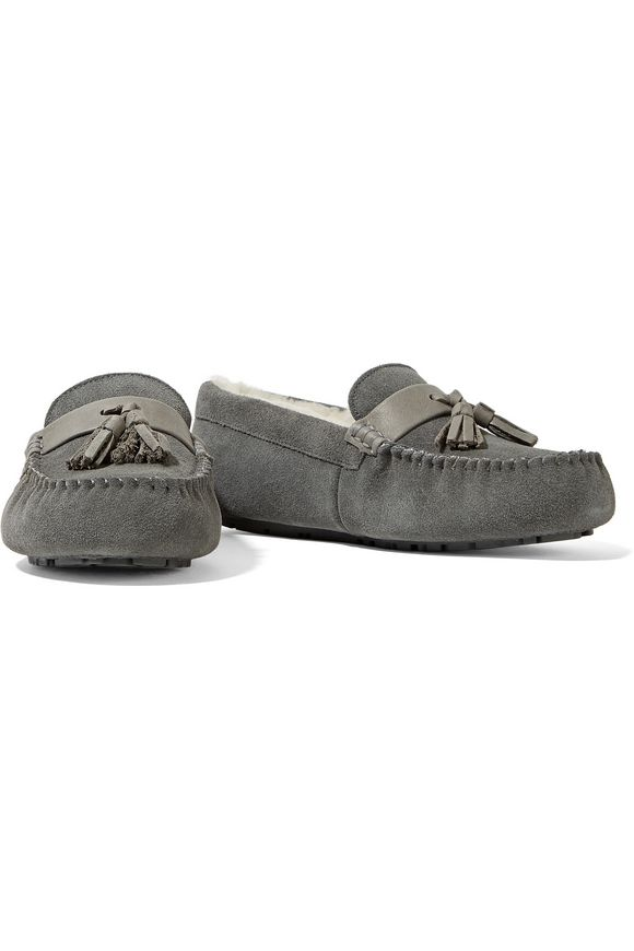 Patrese shearling moccasins   AUSTRALIA LUXE COLLECTIVE   Sale up to 70% off    THE OUTNET