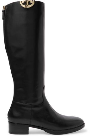TORY BURCH Leather knee boots