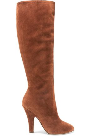 DOLCE & GABBANA Coco suede knee boots