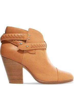 RAG & BONE Harrow braided leather ankle boots