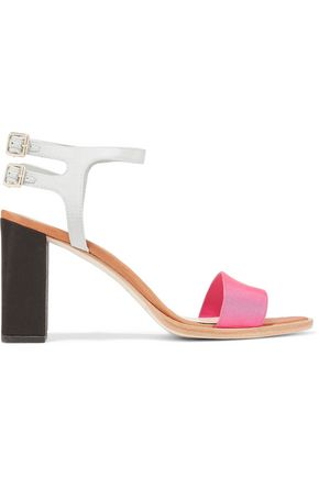 LOEFFLER RANDALL Sylvia color-block satin sandals