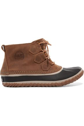 SOREL Out N About™ waterproof nubuck and rubber boots