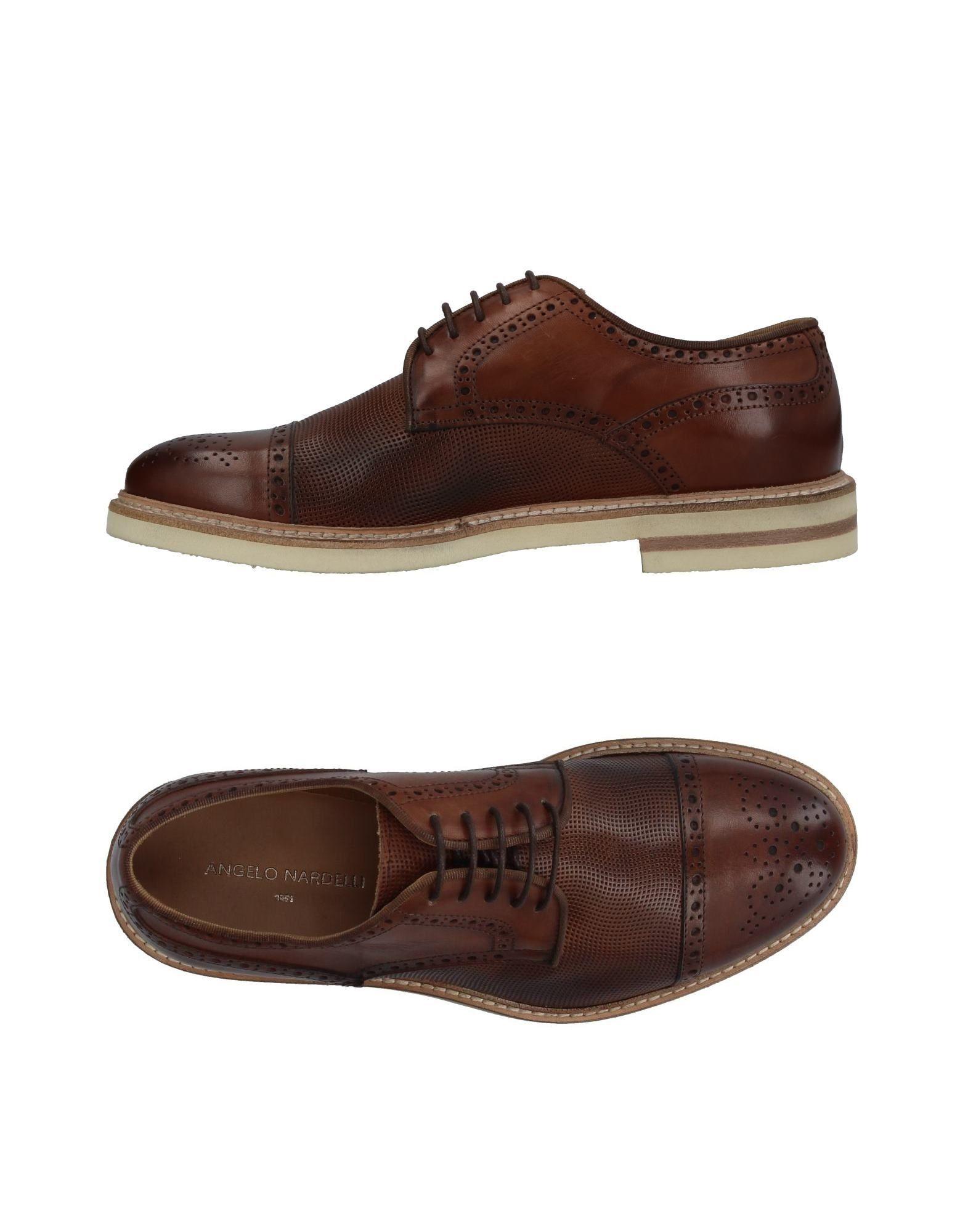 где купить  ANGELO NARDELLI Обувь на шнурках  по лучшей цене