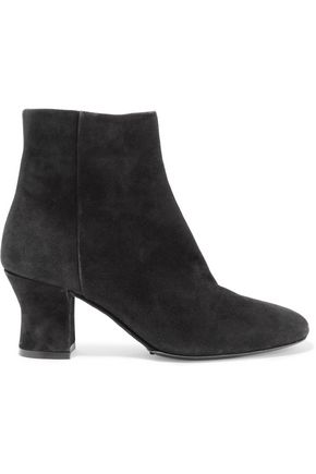 THE ROW Bowin suede ankle boots