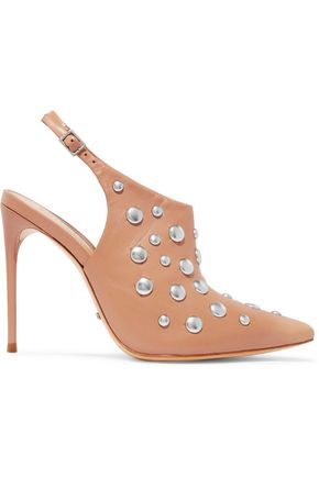SCHUTZ Anardele studded leather pumps
