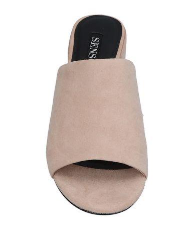 Фото 2 - Женские сандали SENSO светло-розового цвета