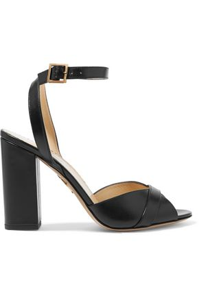 CHARLOTTE OLYMPIA Cilla leather sandals