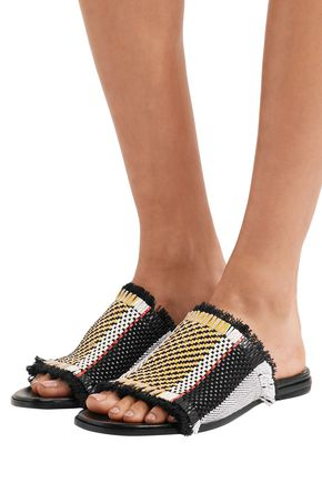 Proenza Schouler Woven Slide free shipping extremely KySSJuhb
