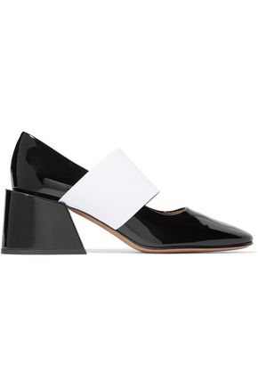 GIVENCHY Two-tone patent-leather pumps