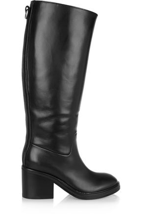 ACNE STUDIOS Egor leather knee boots