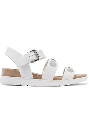 MICHAEL MICHAEL KORS Reggie embellished leather sandals