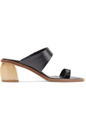 TIBI Olivia leather sandals