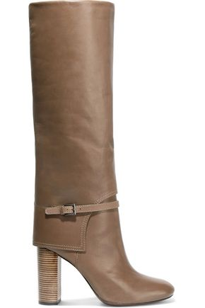 TORY BURCH Faye leather knee boots