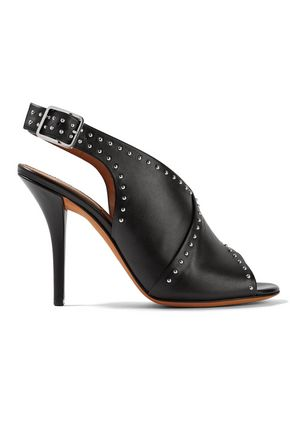 GIVENCHY Stud-embellished leather sandals