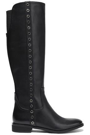 MICHAEL MICHAEL KORS Dora rivet-embellished knee boots