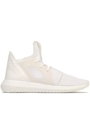 ADIDAS ORIGINALS Tubular Defiant neoprene and stretch-knit sneakers