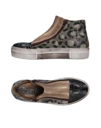 Sneackers Nero donna EBARRITO Sneakers&Tennis shoes alte donna