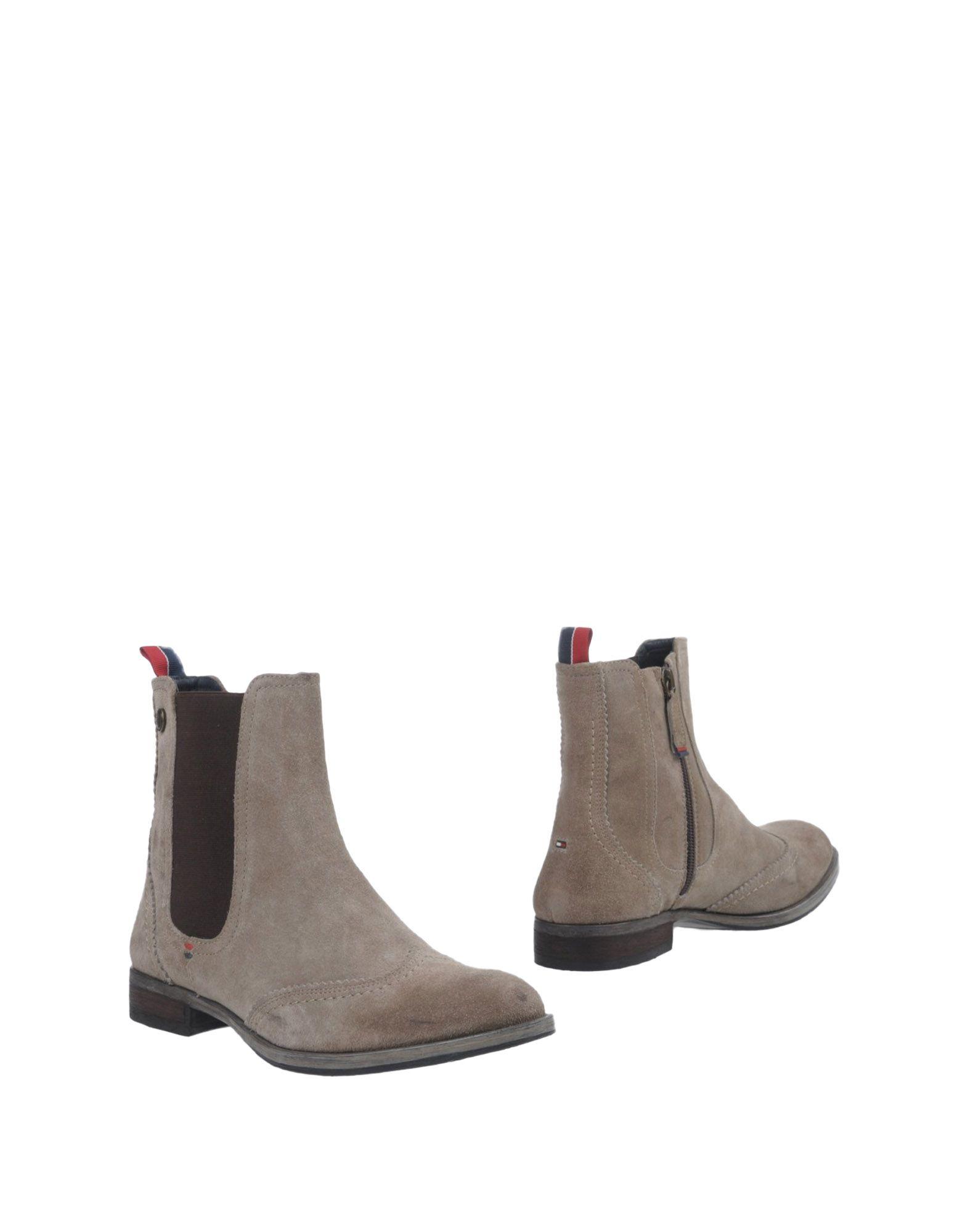 TOMMY HILFIGER Полусапоги и высокие ботинки tommy hilfiger полусапоги и высокие ботинки