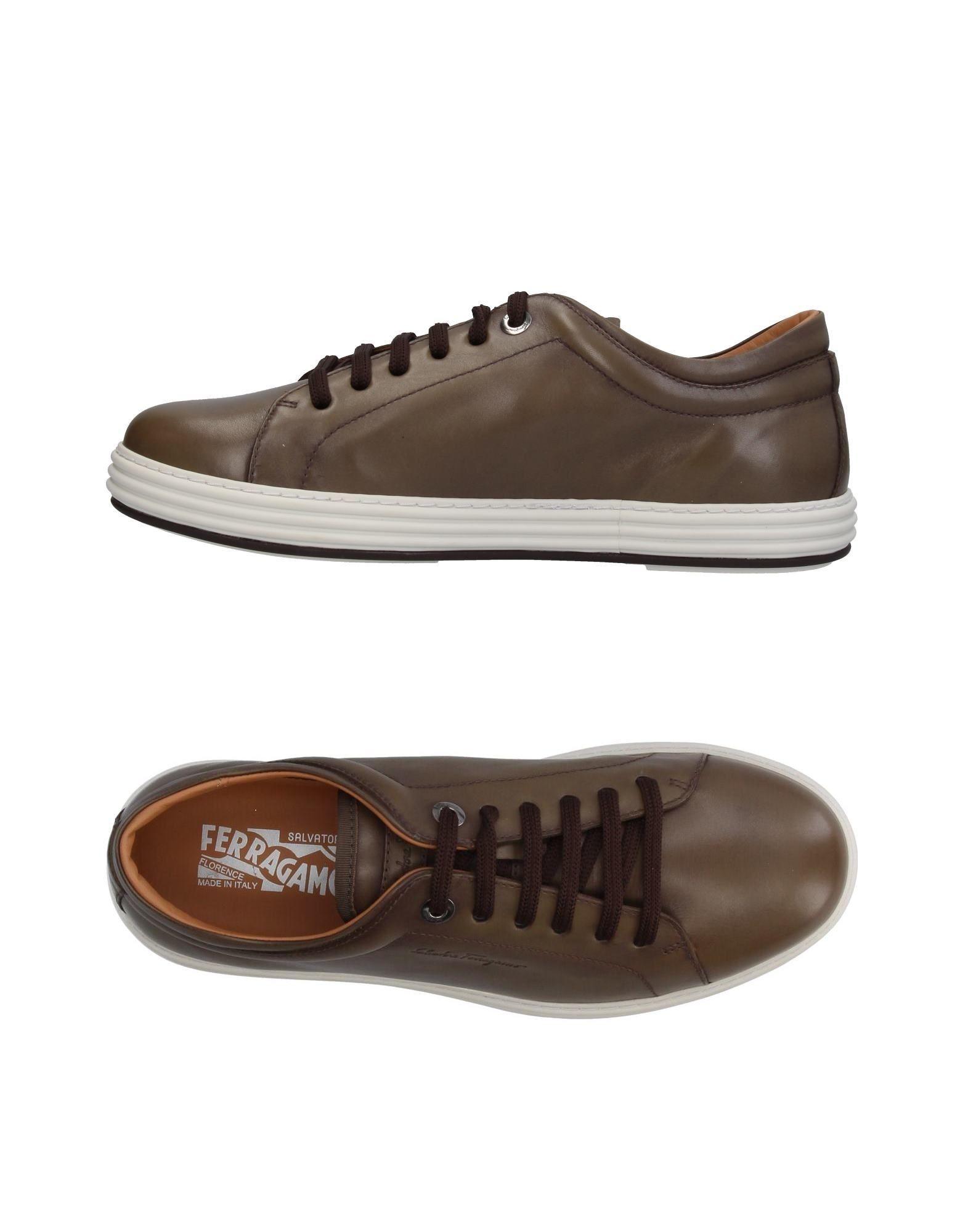 SALVATORE FERRAGAMO Низкие кеды и кроссовки salvatore ferragamo низкие кеды и кроссовки