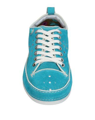 Фото 2 - Низкие кеды и кроссовки лазурного цвета
