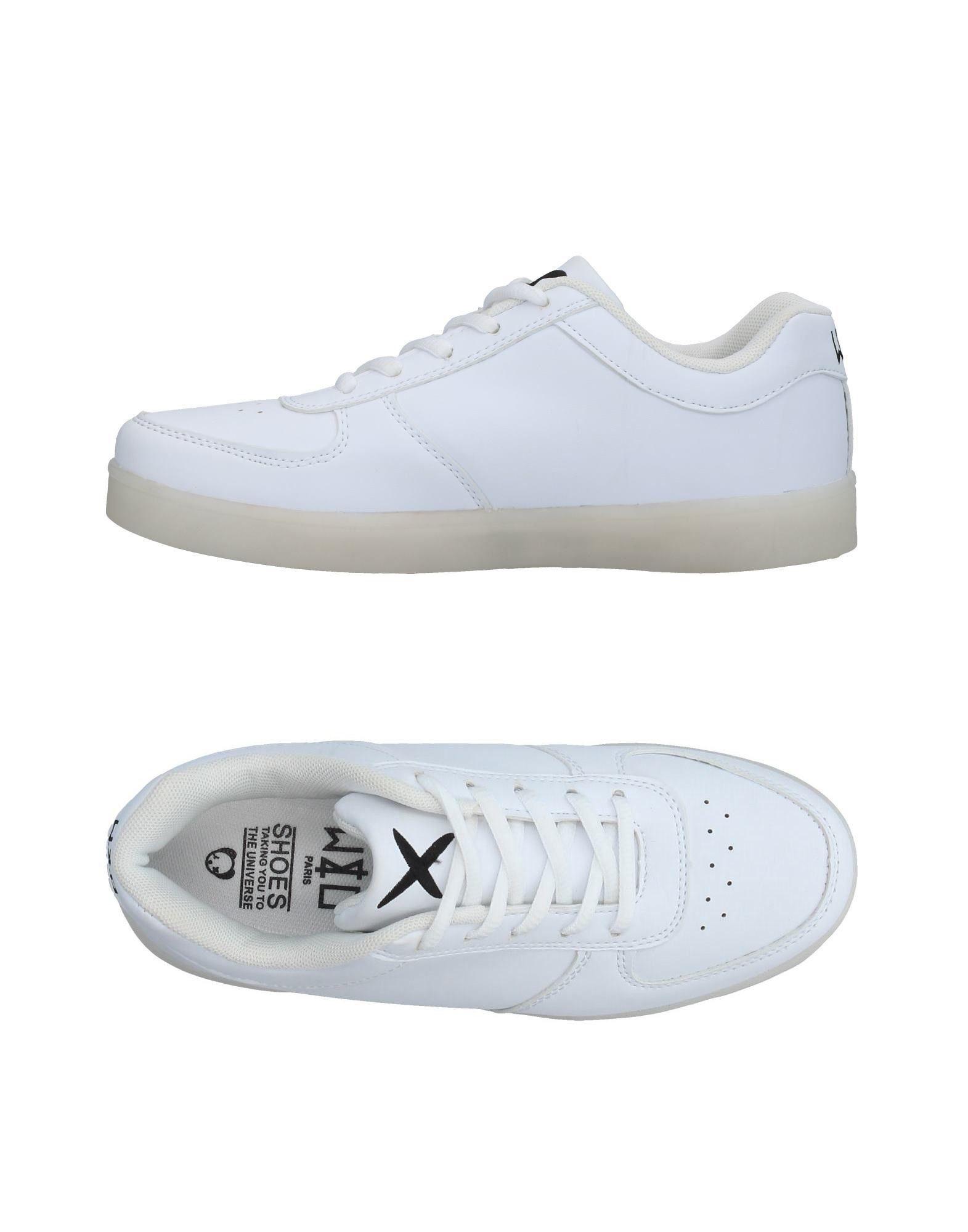 《送料無料》WIZE & OPE レディース スニーカー&テニスシューズ(ローカット) ホワイト 9 紡績繊維