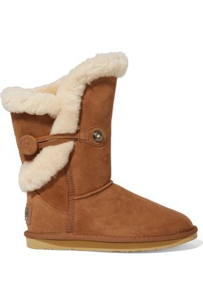 Australia Luxe Collective WOMAN NORDIC SHEARLING BOOTS BROWN