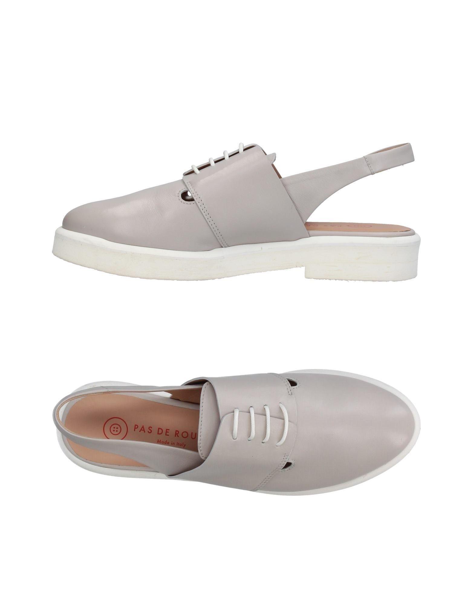PAS DE ROUGE Обувь на шнурках цены онлайн